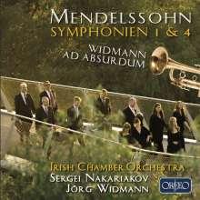 Felix Mendelssohn Bartholdy (1809-1847): Symphonien Nr.1 & 4, CD