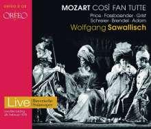 Wolfgang Amadeus Mozart (1756-1791): Cosi fan tutte, 2 CDs