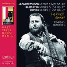 Heinrich Schiff - Solistenkonzert Salzburger Festspiele 23.August 1982, CD