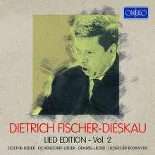 Dietrich Fischer-Dieskau - Lied Edition Vol.2 (Orfeo), 4 CDs