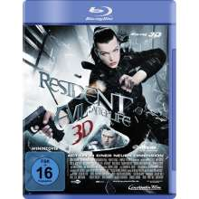 Resident Evil: Afterlife 3D (Blu-ray), Blu-ray Disc