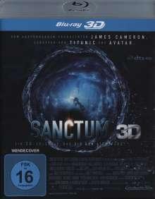 Sanctum 3D (Blu-ray), Blu-ray Disc