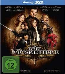 Die drei Musketiere (2011) (3D Blu-ray), Blu-ray Disc