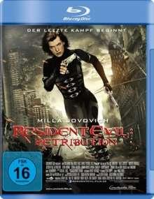 Resident Evil: Retribution (Blu-ray), Blu-ray Disc