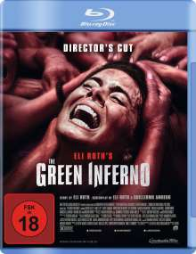 The Green Inferno (Blu-ray), Blu-ray Disc