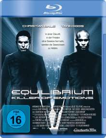 Equilibrium (Blu-ray), Blu-ray Disc