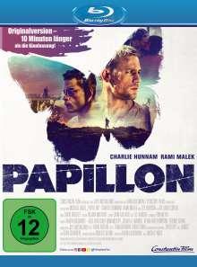 Papillon (2018) (Blu-ray), Blu-ray Disc