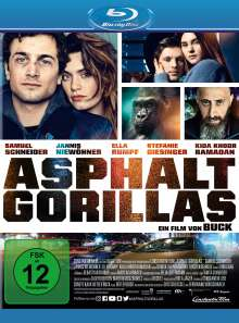 Asphaltgorillas (Blu-ray), Blu-ray Disc
