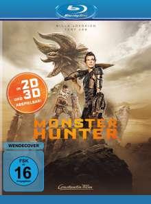Monster Hunter (3D Blu-ray), Blu-ray Disc