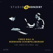 Chris Gall & Bernhard Schimpelsberger: Studio Konzert (180g) (Limited-Numbered-Edition), LP
