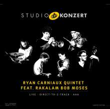 Ryan Carniaux & Ra-Kalam Bob Moses: Studio Konzert (Limited-Numbered-Edition) (180g), LP