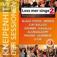 Loss mer singe: Kneipenhits der Sessionen 2, 2 CDs