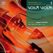 "Karin Dolman & Caecilia Boschman - Voila Viola! Vol.1 ""Great Britain"", Super Audio CD"