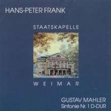Gustav Mahler (1860-1911): Symphonie Nr.1 (mit dem Blumine-Satz), CD