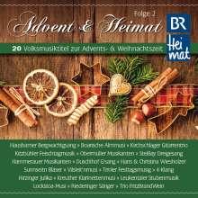 Weihnachtsplatten: Advent & Heimat Folge 2, CD