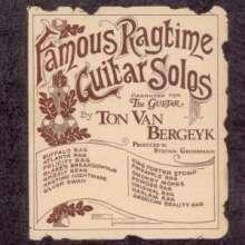 Ton Van Bergeyk: Famous Ragtime Guitar Solos, CD