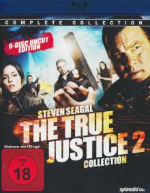The True Justice Collection 2 (Blu-ray), 6 Blu-ray Discs