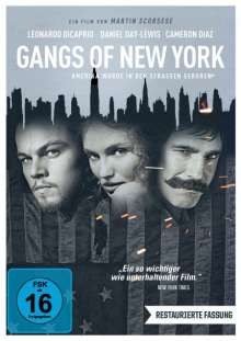 Gangs of New York, DVD