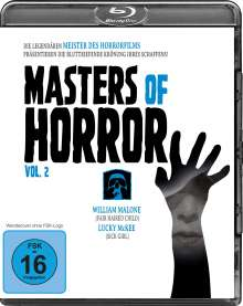 Masters of Horror Vol. 2 (Blu-ray), Blu-ray Disc