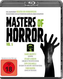 Masters of Horror Vol. 3 (Blu-ray), Blu-ray Disc