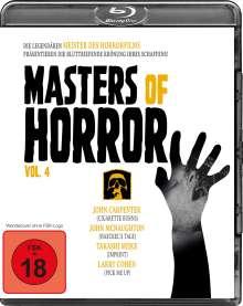 Masters of Horror Vol. 4 (Blu-ray), Blu-ray Disc