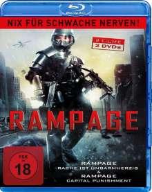 Rampage - Double Feature (Blu-ray), 2 Blu-ray Discs