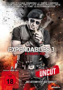 The Expendables 3 - A Man's Job, DVD