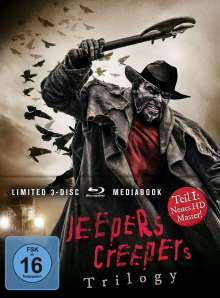 Jeepers Creepers Trilogy (Blu-ray im Mediabook), 3 Blu-ray Discs