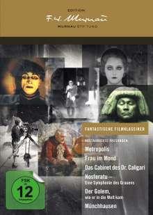 Edition F.W. Murnau - Fantastische Filmklassiker, 10 DVDs
