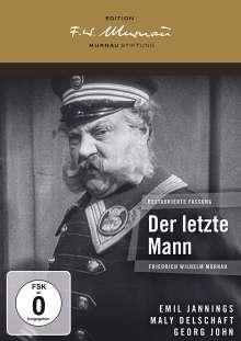 Der letzte Mann (1924), DVD