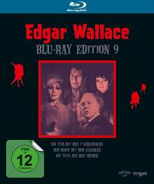 Edgar Wallace Edition 9 (Blu-ray), 3 Blu-ray Discs