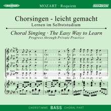 Chorsingen leicht gemacht:Mozart,Requiem (Bass), CD