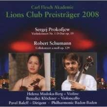 Carl Flesch-Akademie - Lions Club Preisträger 2008, CD