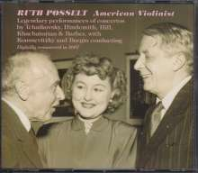 Ruth Posselt - American Violinist, 3 CDs