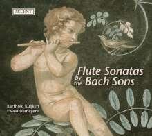 Barthold Kuijken - Flötensonaten der Bach-Söhne, CD