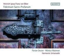 Heinrich Ignaz Biber (1644-1704): Fidicinium Sacro-Profanum Nr. 1-12, CD