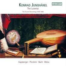 Konrad Junghänel - The Lutenist (Accent Recordings 1978-1980), 3 CDs