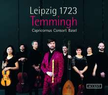 Leipzig 1723 - Bach and His Rivals for the Thomaskantor Position, CD