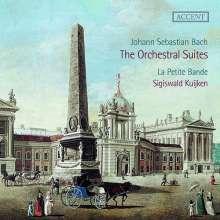 Johann Sebastian Bach (1685-1750): Orchestersuiten Nr.1-4 (180g) (Exklusiv für jpc), 2 LPs
