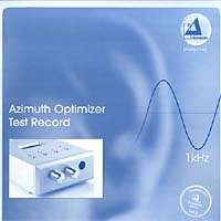 Azimuth Optimizer Test Record (180g), LP