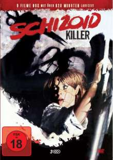 Schizoid Killer (9 Filme auf 3 DVDs), 3 DVDs