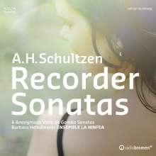 A. H. Schultzen  (Andreas Heinrich Schulze) (1681-1706): Blockflötensonaten, CD