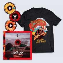 Alligatoah: Schlaftabletten, Rotwein V Zugabe, 2 CDs, 1 Blu-ray Disc, 1 Buch und 1 T-Shirt