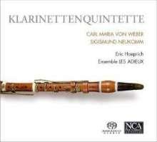 Sigismund Ritter von Neukomm (1778-1858): Klarinettenquintett op.8, Super Audio CD