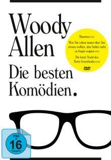 Woody Allen - Die besten Komödien (3 Filme), 3 DVDs