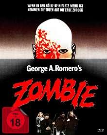 Zombie - Dawn of the Dead (Ultra HD Blu-ray & Blu-ray im Mediabook), 1 Ultra HD Blu-ray und 2 Blu-ray Discs
