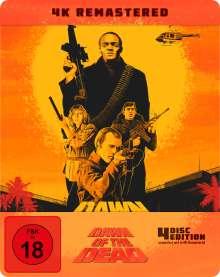 Zombie - Dawn of the Dead (Ultra HD Blu-ray & Blu-ray im Steelbook), 1 Ultra HD Blu-ray und 3 Blu-ray Discs