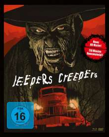 Jeepers Creepers (Blu-ray & DVD im Mediabook), 1 Blu-ray Disc und 2 DVDs
