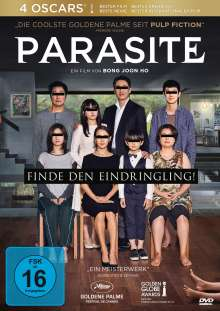 Parasite, DVD
