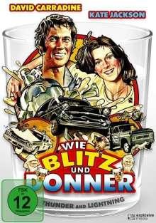 Wie Blitz und Donner, DVD